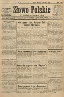 Słowo Polskie. 1932, nr11