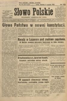 Słowo Polskie. 1932, nr16