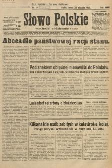Słowo Polskie. 1932, nr19