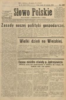Słowo Polskie. 1932, nr21