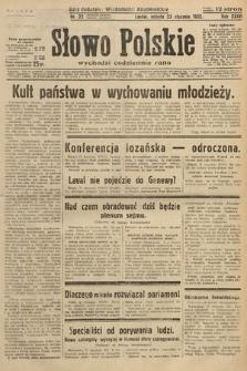 Słowo Polskie. 1932, nr22