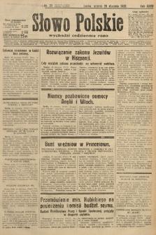 Słowo Polskie. 1932, nr25