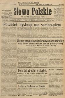 Słowo Polskie. 1932, nr26