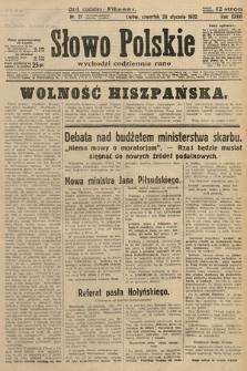 Słowo Polskie. 1932, nr27