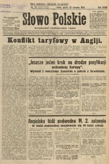 Słowo Polskie. 1932, nr28