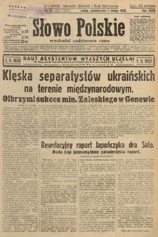 Słowo Polskie. 1932, nr31