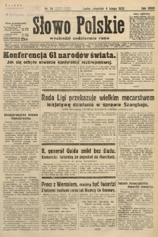 Słowo Polskie. 1932, nr34