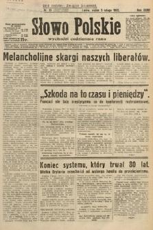 Słowo Polskie. 1932, nr35