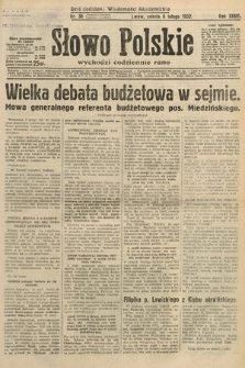 Słowo Polskie. 1932, nr36