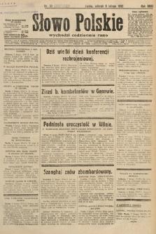 Słowo Polskie. 1932, nr39
