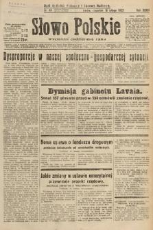 Słowo Polskie. 1932, nr48