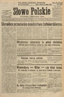 Słowo Polskie. 1932, nr50