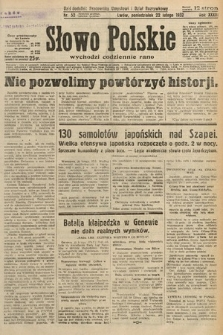 Słowo Polskie. 1932, nr52