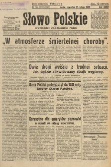 Słowo Polskie. 1932, nr55