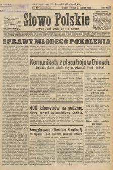 Słowo Polskie. 1932, nr57