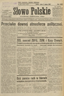 Słowo Polskie. 1932, nr61