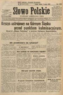 Słowo Polskie. 1932, nr70