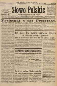 Słowo Polskie. 1932, nr83