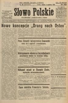 Słowo Polskie. 1932, nr89