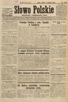Słowo Polskie. 1932, nr92