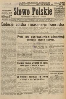 Słowo Polskie. 1932, nr93