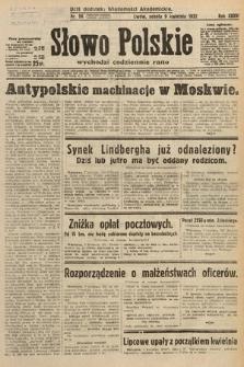 Słowo Polskie. 1932, nr96