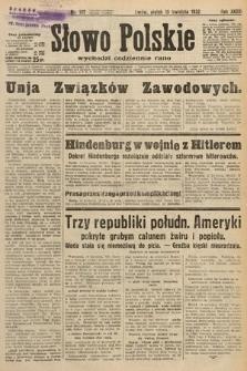 Słowo Polskie. 1932, nr102