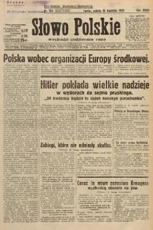 Słowo Polskie. 1932, nr103