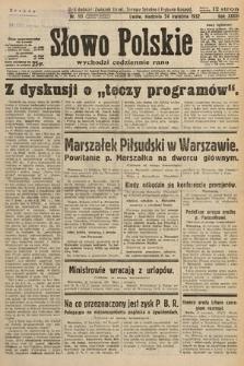 Słowo Polskie. 1932, nr111
