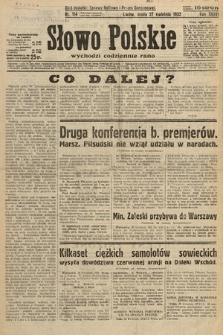 Słowo Polskie. 1932, nr114