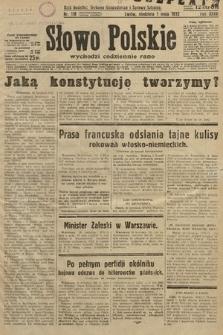 Słowo Polskie. 1932, nr118