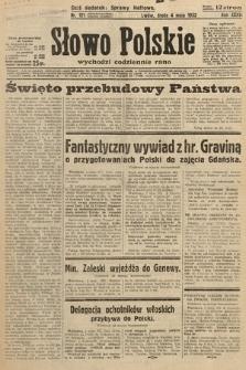 Słowo Polskie. 1932, nr121