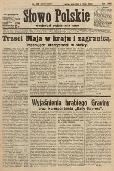 Słowo Polskie. 1932, nr122