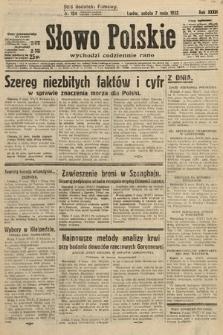 Słowo Polskie. 1932, nr124