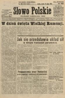Słowo Polskie. 1932, nr128
