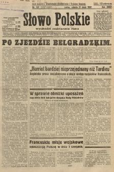 Słowo Polskie. 1932, nr137