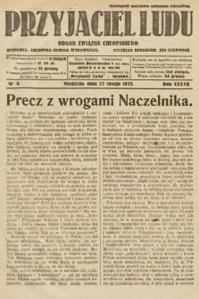 Przyjaciel Ludu : organ Związku Chłopskiego. 1925, nr8
