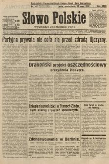 Słowo Polskie. 1932, nr146