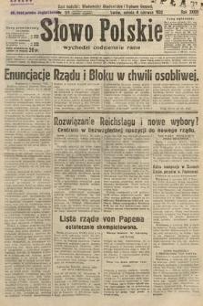 Słowo Polskie. 1932, nr151