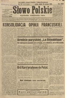 Słowo Polskie. 1932, nr157