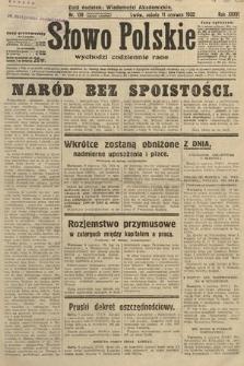 Słowo Polskie. 1932, nr158