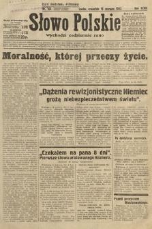Słowo Polskie. 1932, nr163