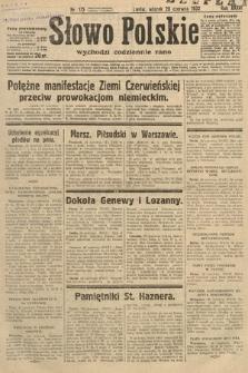 Słowo Polskie. 1932, nr175