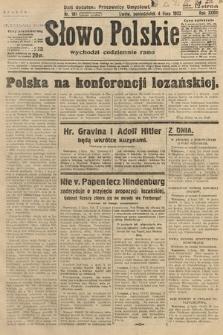 Słowo Polskie. 1932, nr181