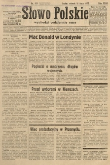 Słowo Polskie. 1932, nr189