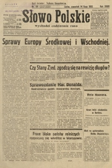 Słowo Polskie. 1932, nr191