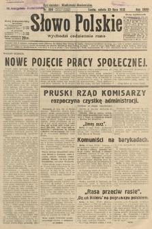 Słowo Polskie. 1932, nr200