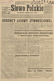 Słowo Polskie. 1932, nr206