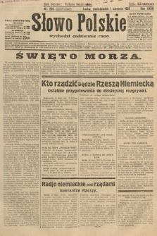 Słowo Polskie. 1932, nr209