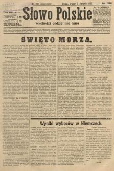 Słowo Polskie. 1932, nr210